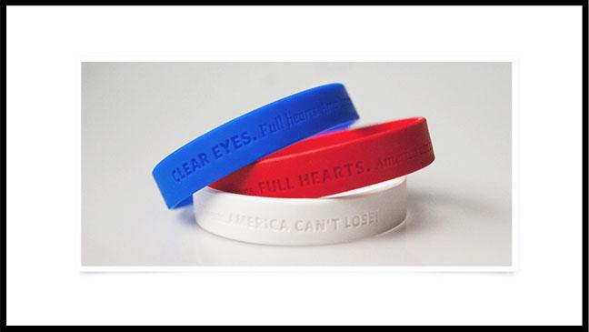 Mitt Romney Campaign Bracelets - H 2012