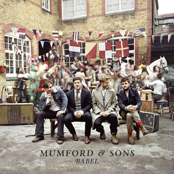 Mumford and Sons Babel cd cover P