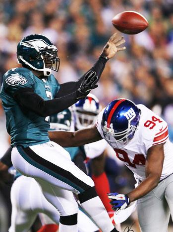 New York Giants Philadelphia Eagles 9/30 - P 2012
