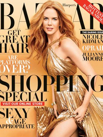 Nicole Kidman Harper's Bazaar Cover - P 2012
