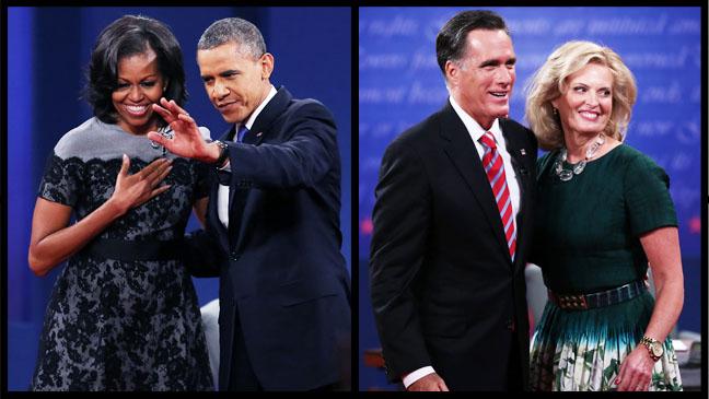 Michelle Barack Mitt Ann Split - H 2012