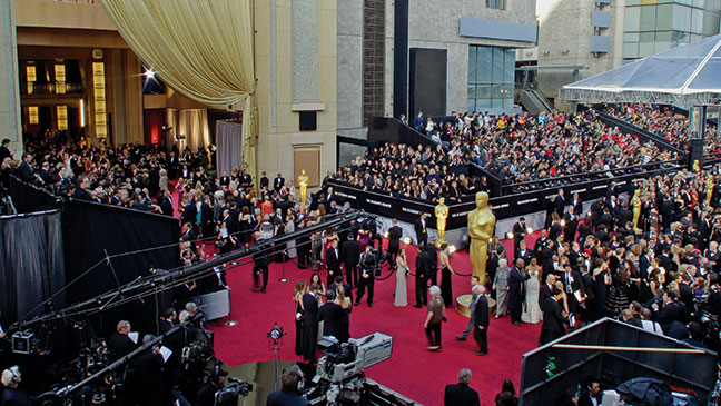 Awards Oscar Red Carpet - H 2012