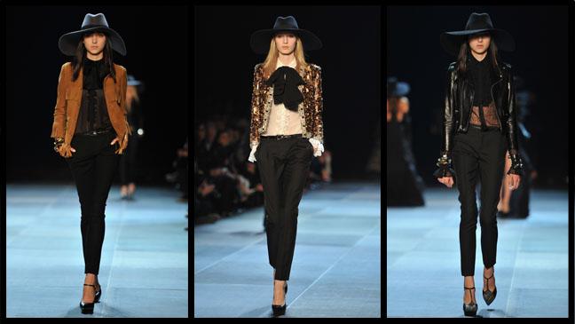 Saint Laurent Pant Suit Split - H 2012