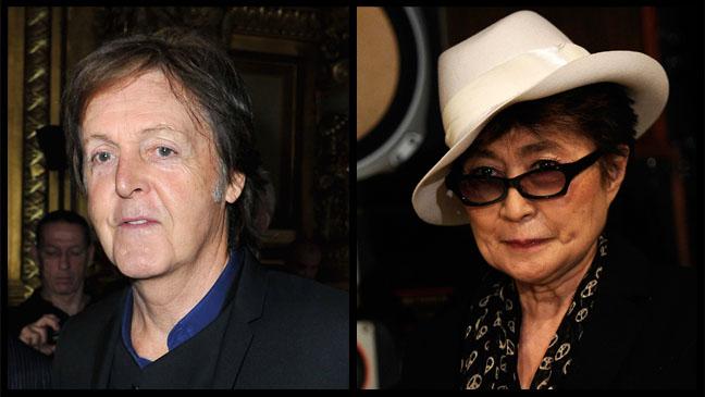 Paul McCartney Yoko Ono - H 2012