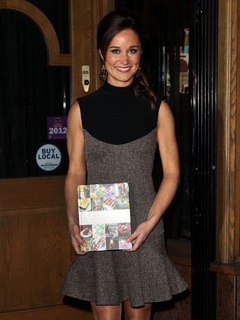 Pippa Middleton Book Launch - P 2012