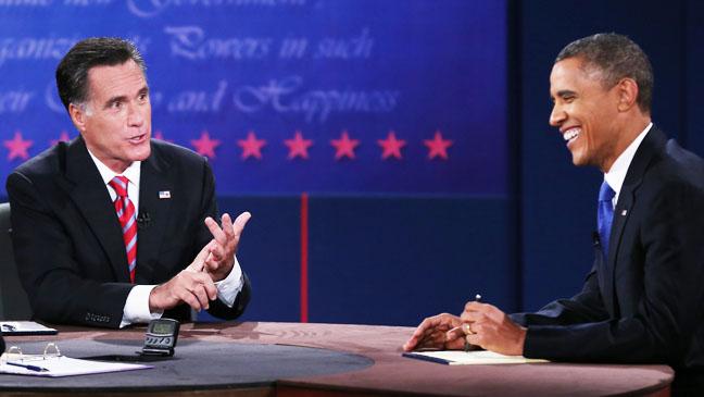 Presidential Debate Lynn University Obama Laughing - H 2012