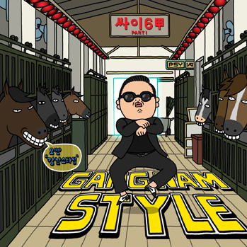 Psy Gangnam Style Cover Art P