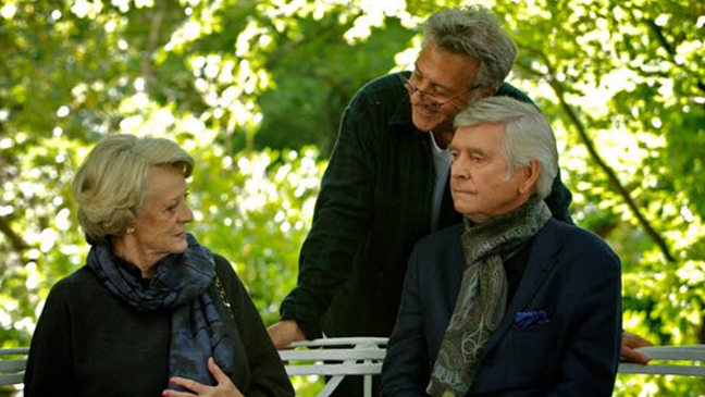 Quartet Film Still - Dustin Hoffman - H 2012