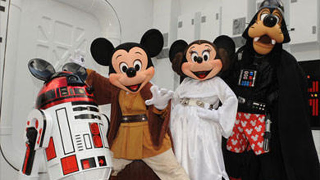 R2-D2 Star Wars Disney Mickey Mouse - H 2012