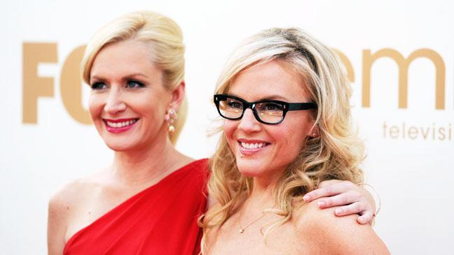 Rachael Harris and Angela Kinsey Emmy Awards - H 2012