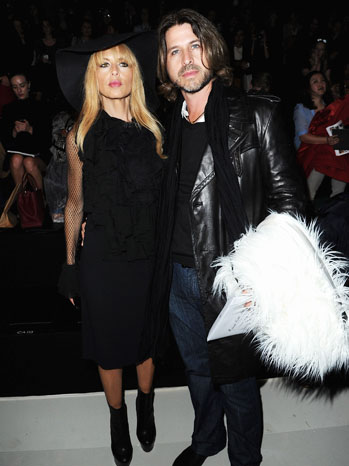 Rachel Zoe Rodger Berman Paris Fashion Week 2 - P 2012