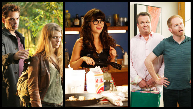 Revolution New Girl Modern Family Episodics - H 2012