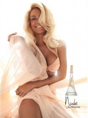 Rihanna ad nude