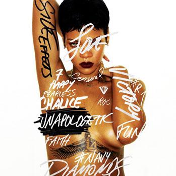 Rihanna Unapologetic Album Cover - S 2012