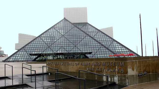 Rock 'n' Roll Hall of Fame Exterior - H 2012