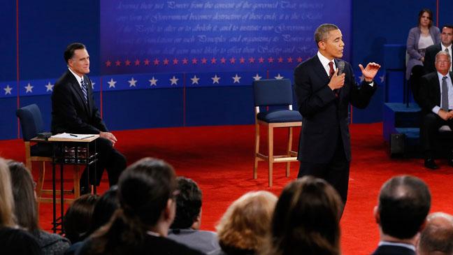Romney Obama Debate Three - H 2012