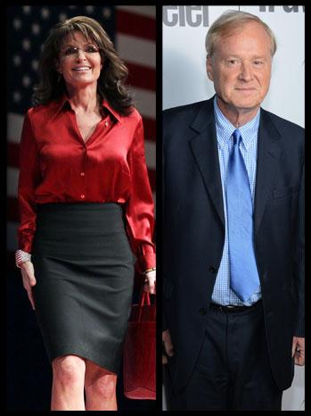 Sarah Palin Chris Matthews Split - P 2012