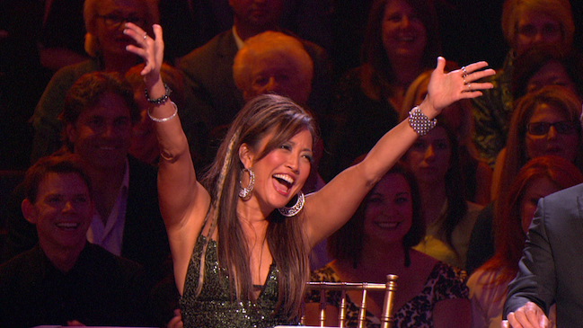 Carrie Ann Inaba Dancing With the Stars still 2012