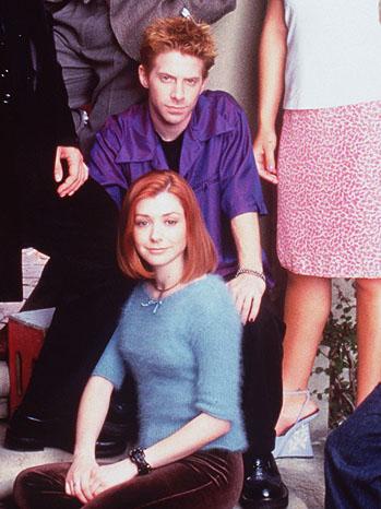 Buffy the Vampire Slayer Seth Green Alyson Hannigan - P 2012