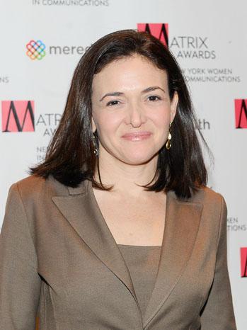 Sheryl Sandberg Headshot - P 2012