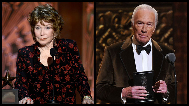 Shirley MacLaine Christopher Plummer - H 2012
