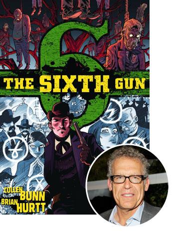 The Sixth Gun Cover Carlton Cuse Inset – P 2012