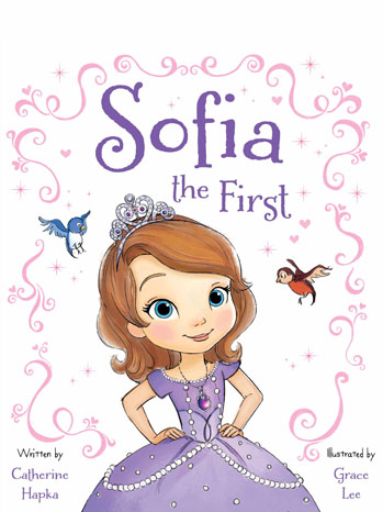Sofia The First Cover Art - P 2012