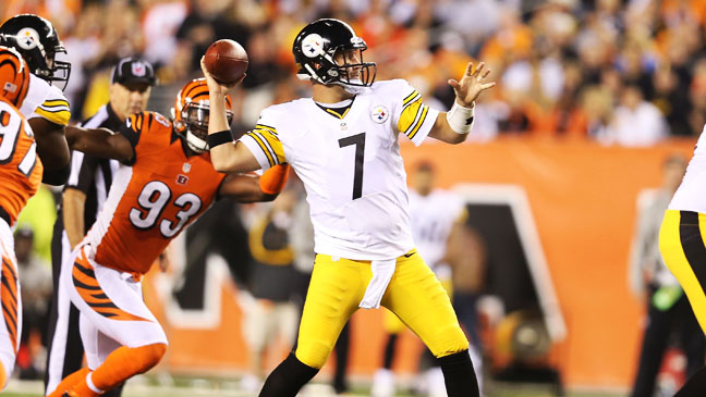 Pittsburgh Steelers Cincinnati Bengals  10/21 - H 2012