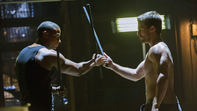 Stephen Amell David Ramsey Arrow Legacies - H 2012