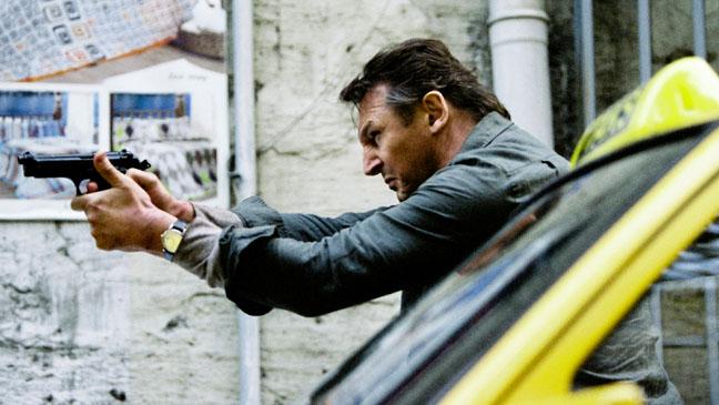 Taken 2 Liam Neeson Shooting Taxi - H 2012