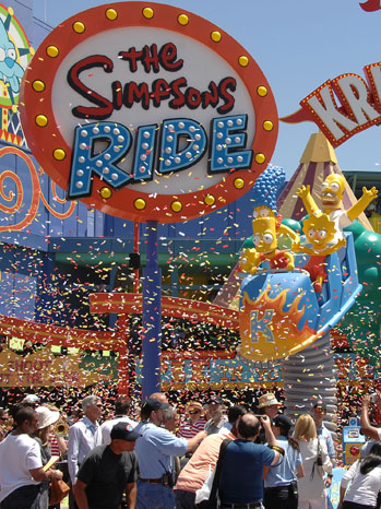 The Simpsons Ride - P 2012