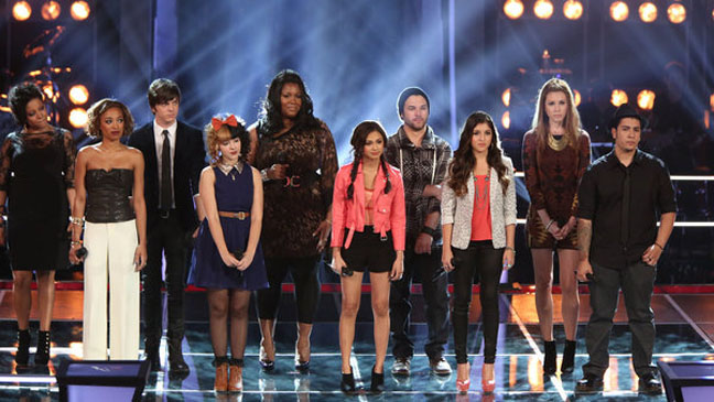 The Voice Knockouts Part 1 - H 2012