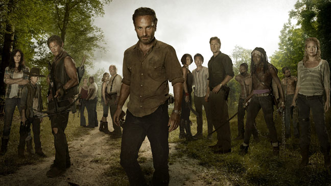 The Walking Dead Group Portrait - H 2012