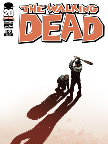 The Walking Dead Comic Cover Issue 103 - P 2012