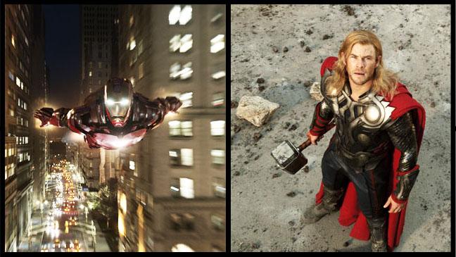 Iron Man Thor Split - H 2012
