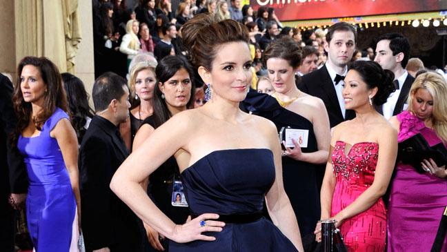 Tina Fey Oscars Horizontal - H 2012