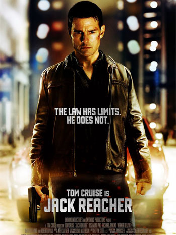 Tom Cruise Jack Reacher Poster Art - P 2012