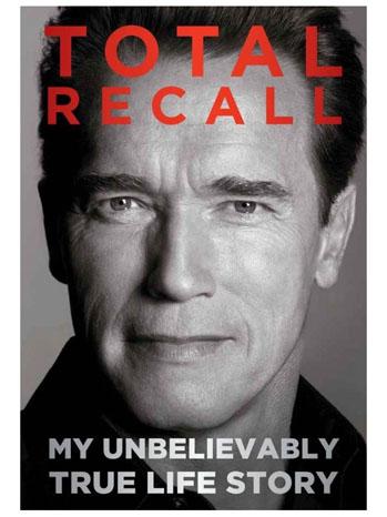 Total Recall Schwarzenegger Book Cover - P 2012