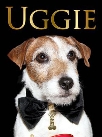 Uggie Book Cover - P 2012