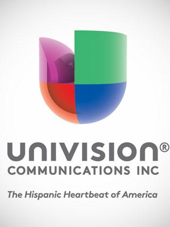 Univision Logo New - P 2012