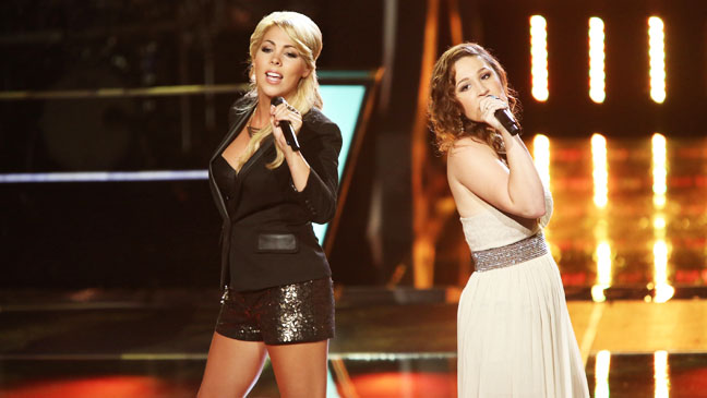 The Voice Battles Liz Davis Nicole Johnson - H 2012