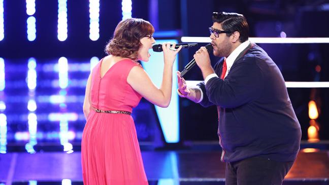 The Voice Battles Alexis Marceaux Daniel Rosa - H 2012