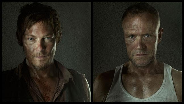 The Walking Dead Daryl Merle Split - H 2012