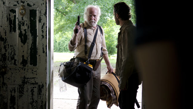 The Walking Dead Hershel Greene RIck Grimes - H 2012