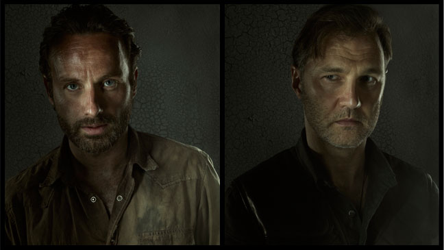 The Walking Dead Rick Grimes Governor - H 2012