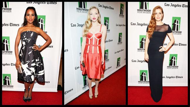 Washington Seyfried Adams Hollywood Film Awards - H 2012