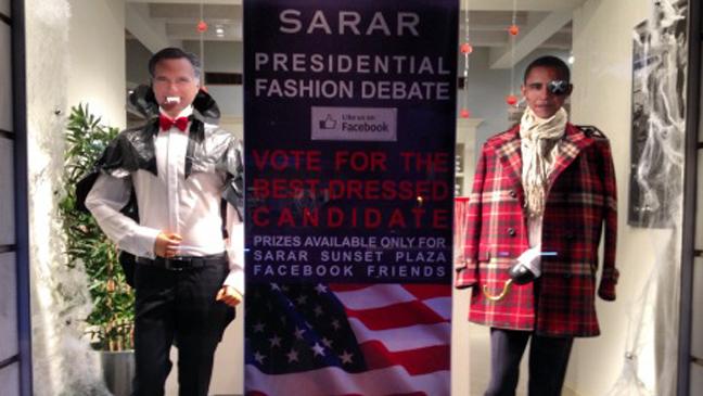 Sarar's Obama Romney Window - H 2012