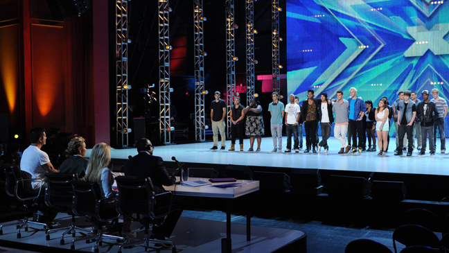 X Factor bootcamp season 2 L
