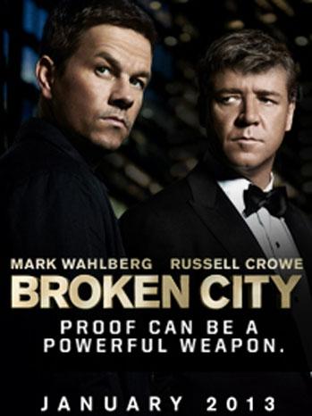 Broken City one sheet - P 2012