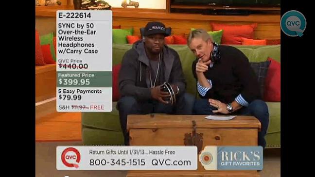 50 Cent QVC screen grab L